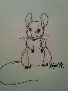 Mouse doodle -by BrigidM