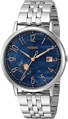 Fossil Womens ES3994 Vintage Muse Stainless Steel Watch ** Visit the image link more details. Note: It's an affiliate link to Amazon