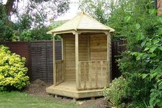 small gazebo - half enclosed