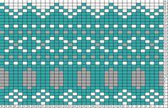 """Cross Stitch"" Fair Isle pattern"
