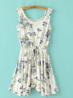 SUMMER NEW ARRIVAL FASHION LADIES' PRINTED LACE SLEEVELESS DRESS BRAND QUALITY ST1761