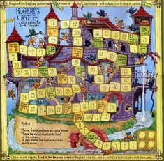 This Castle Board Game is a free image for you to print out. Check out our Free Printable Board Games today and get to customizing! Board Game Template, Printable Board Games, Free Printable, Dice Games, Math Games, Fun Games, Bord Games, Table Games, Kids Castle