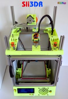 Reprap development and further adventures in DIY 3D printing: Sli3DR 3D Printer design files up on Youmagine