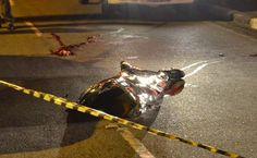 BOLETINS POLICIAIS - COM FOTOS JORNAL O RESUMO: Motoqueiro morre tragicamente na estrada nesta mad...