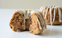 Cinnamon Zucchini Cakes [Vegan] | One Green Planet