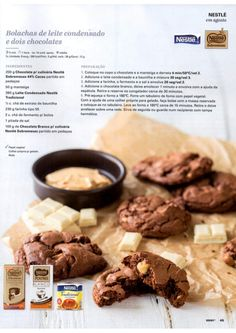 Revista Bimby Agosto 2015 Cookie Recipes, Dessert Recipes, Desserts, I Companion, Tasty, Yummy Food, Happy Foods, Sweet Cakes, Food Hacks