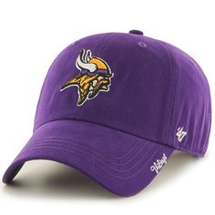 Women's Minnesota Vikings '47 Purple Miata Clean Up Adjustable Hat - NFLShop.com