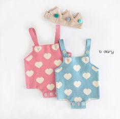B Diary Heart Knit Suit (2C)