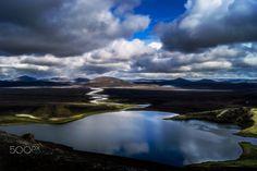 Veiðivötn, Iceland - Veiðivötn lakes in the Icelandic Highlands.