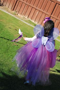 Tooth Fairy Costume from MyTalesFromTheCrib: DIY Mama! No-Sew, Homemade Halloween Costumes Featuring: The Tooth Fairy!