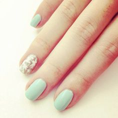 Try this easy snowflake nail tutorial for a festive spin on your manicure!