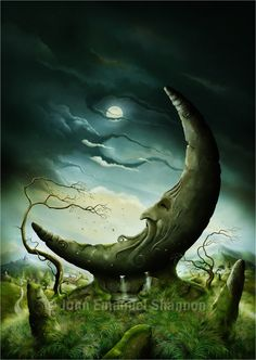 'Moon Stone' - jeshannon (John Emmanuel Shannon) - deviantArt