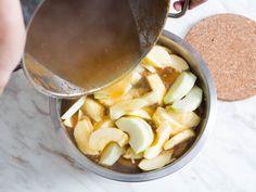 Step 1: Heat Apples