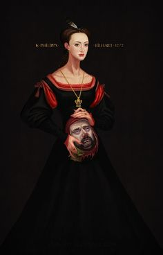 Phillipa Eilhart and King Vizimir of Redania  by avalat