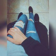 Casal tumblr #lulet Fotos para se inspirar ❤ cute couple, pictures, tumblr couples...