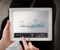 """The """"Paper"""" iPad app is more than just a doodle pad. The user can do anything he or she would do on regular paper. Watch the video to see just how awesome this app really is."""