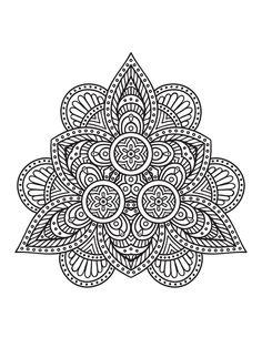 As Mandalas são símbolos mágicos e espirituais e colorir favorece a concentração…
