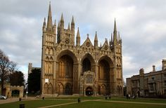 Peterborough Cathedral by champnet