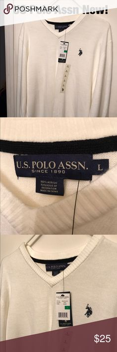 Price drop!! Brand new US Polo Assn sweater. US Polo sweater in new condition US Polo Assn Sweaters V-Neck