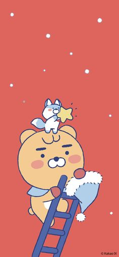 Iphone Wallpapers, Cute Wallpapers, Kakao Friends, Friends Wallpaper, Bb, Graphics, Cartoon, Fictional Characters, Screens