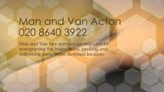 Man and Van hire services are required for transporting the home items, packing and delivering them to the destined locati...