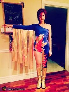 Ziggy Stardust / David Bowie - Halloween Costume Contest via @costume_works