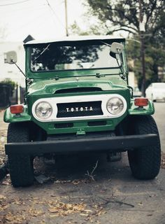Beautiful, vintage Landcruiser! #Toyota #LetsGoPlaces
