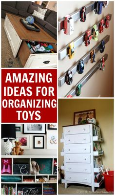 10 amazing ideas for toy organization. Keep those toys contained once and for all!