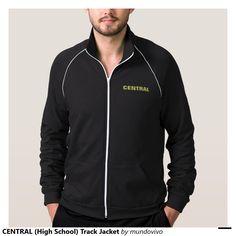 CENTRAL (High School) Track Jacket