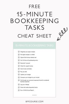 Nonprofit Bookkeeping  Accounting For Dummies Cheat Sheet  For