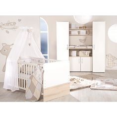 Fresh  einrichten k nnen bietet Ihnen das Komplettzimmer Luna von Babies R Us die drei wichtigsten M belst cke die ein jedes Baby und Kinderzimmer braucht