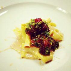Housemade Papardelle with Tonnato Sauce + Ahi Tuna
