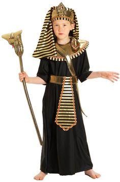 Boys Egyptian Pharaoh Costume Small