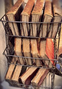 Weathered Antique Books