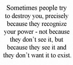 Let them waste their energy but not you...