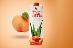 Forever Aloe Peaches™ | Forever Living Products Austria Aloe Vera Gel, Gel Aloe, Forever Aloe, Berry, Clean9, Forever Living Products, Peach, Austria, Switzerland