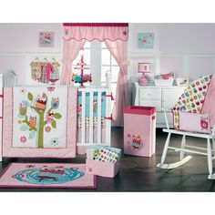 Have to have it. Zutano Owls 4 Piece Crib Set $118.98