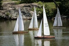 2009 M Class Pond Yachts Racing at Redd's Pond Marblehead Mass Row Row Your Boat, M Class, Park In New York, Water Pond, Float Your Boat, Local Parks, Outdoor Playground, Boat Plans, Battery Park