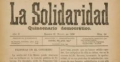 The last of the three well known articles in the La Solidaridad is the Philippines a Century Hence, where in Rizal tried to predict the future of the Philippines. He noted that eventually, the Philippines would separate itself from Spain, an event that will become inevitable if the Philippines were not assimilated and made as a Spanish province. Jose Rizal, Inevitable, Happy Life, Separate, Philippines, Love Her, Spanish, Articles, Thoughts