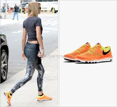 Arriving at the gym | New York City, NY | September 9, 2016 |  Nike 'Free TR Focus Flyknit Training Shoe' -  Worn with: Carrera sunglasses and Bandolier bag
