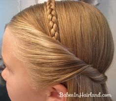 Braided Headband for Any Age | Babes In Hairland