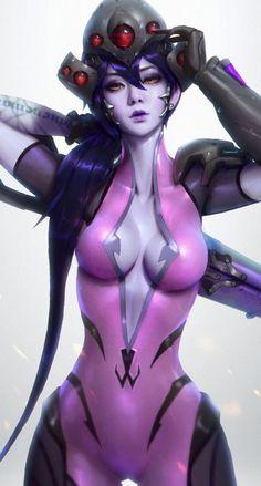 Widowmaker - Overwatch fan art by Paul Kwon #overwatch #widowmaker #cosplayclass #costume