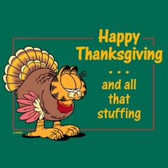 Happy Thanksgiving and All That Stuff garfield thanksgiving happy thanksgiving thanksgiving quotes thanksgiving comments thanksgiving quote
