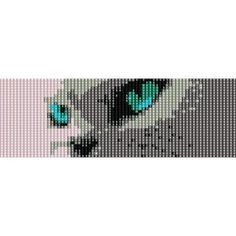 I SEE YOU CATS EYES - peyote (loom) beading pattern for cuff bracelet (buy any 2 patterns - get 3rd FREE) http://beadpatternsplus.ecrater.com/