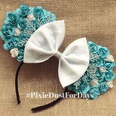 Disney's Frozen Inspired - Elsa Minnie Mouse Disney Ears