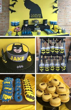 Batman Party Inspirations - Batman Party - Ideas of Batman Party - Batman Party Inspirations Birthday Party Ideas & Themes 3 Year Old Birthday Party Boy, Birthday Themes For Boys, 4th Birthday Parties, Boy Birthday, Birthday Ideas, Lego Batman Birthday, Superhero Birthday Party, Lego Batman Party, Batman Party Decorations