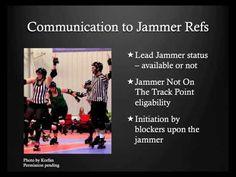 Roller Derby Referee Training - Inside Pack Ref - Ref-Ed.com - YouTube