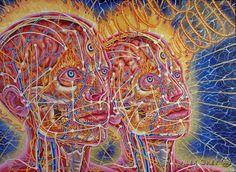 Alex gray art - Paintings d' Alex Grey – Alex gray art Psychedelic Art, Alex Gray Art, Art Visionnaire, Hippie Art, Hippie Life, Process Art, Visionary Art, New Man, Third Eye