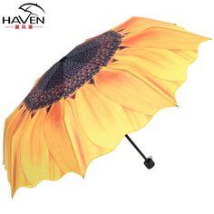 4d32d2102 2014 New Arrival Creative Sunflower Umbrella Sunshade Umbrella Popularity  Three Folding Kids Umbrella For Girl From Wzq120, $31.26 | Dhgate.Com