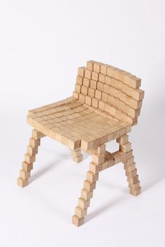 Netherlands-based designer Erik Stehmann explores using simple materials and basic techniques to build a table and chair.